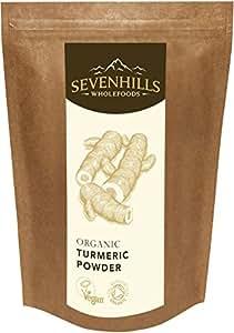 Sevenhills Wholefoods Organic Raw Turmeric Powder 500g