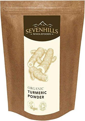 Sevenhills Wholefoods Poudre De Curcuma Crue Bio 1kg