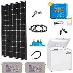 Kit Solar especial África 280W frigorífico congelador steca 166L