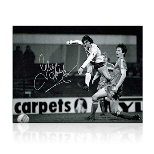 Glenn-Hoddle-Signed-Tottenham-Hotspur-Photo-Road-To-Wembley