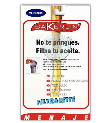 Bakerlin Filter Öl grasera Blister 24un.