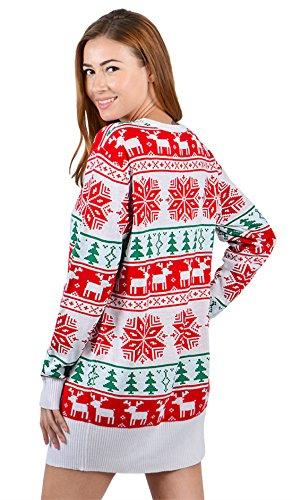 uideazone Herren Damen Ugly Weihnachts Pullover Jumper Xmas Sweater Shirt Strickpullover z-xmas-5