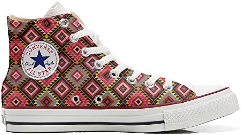 Converse Custom   personalisierte Schuhe (Handwerk Produkt) African Texture