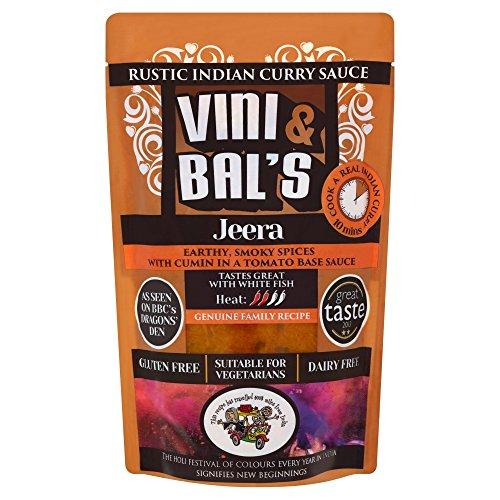 Vini & Bals Jeera Rustic Indian Curry Sauce, 300 g