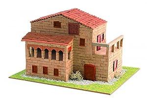 Keranova- Kit de cerámica Casa Señorial, Color marrón (30331)