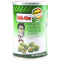 Koh-Kae - Cacahuetes Con Sabor De Algas Nori Y Wasabi Un Aperitivo De Lo Mas Oriental 115G
