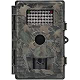ZenNutt Waterproof Trail & Game Camera,HD 12MP 1080P Low Glow Infrared Night Vision Trail Hunting Camera with 42pcs IR LEDs 12 Months Guarantee