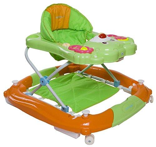 Sun Baby SB-305R/1/ZP Babygeher mit Wiege- Teddy, mehrfarbig