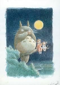 Totoro (My Neighbor) Affiche du film Poster Movie Totoro (mon voisin) (11 x 17 In - 28cm x 44cm) Style B