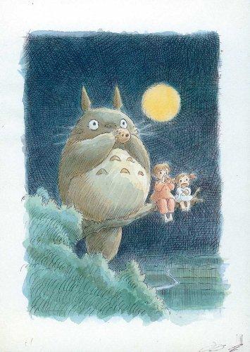Lámina maestra 'Totoro (My Neighbor)', Tamaño: 43 x 28 cm