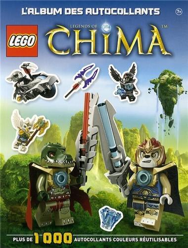 Lego Legends of Chima : L'album d'autocollants
