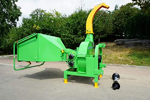 BX-102RS hydraulischer Holzschredder Schredder Holzhäcksler Häcksler für Traktor ab 50 PS - inklusive Zapfwelle -
