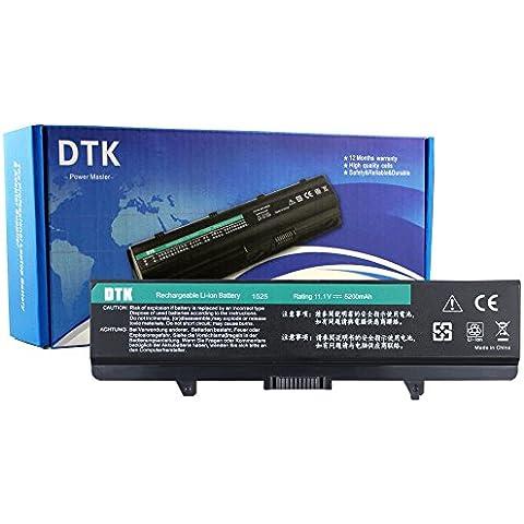 Dtk® portatile nuovo batteria di ricambio per DELL Inspiron 1525
