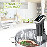 Aobosi Vacuum Sealer Bags Vacuum Food Sealer Rolls Food Storage Bags 2 Pack Roll 20cm X 6m and 28cm X 6m, Embossed Commercial for Sous Vide and Foodsaver BPA Free & LFGB Approved s Rolls For Food Saver,All Vaccum Food Sealer Machines and Sous vide Cooker …