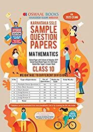 Oswaal Karnataka SSLC Sample Question Papers Class 10 Mathematics Book Chapterwise & Topicwise (For March
