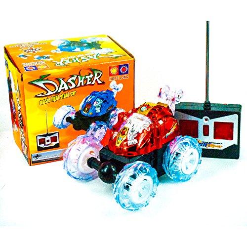 DS24 Dasher Mini Race Auto in Rot Stunt Spielzeug