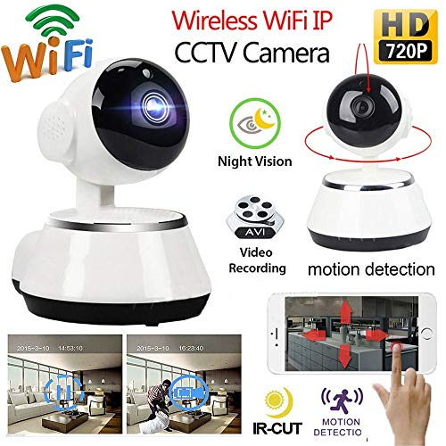 Hd Night Vision Wireless 720P Ip Camera WiFi WiFi Home Security Surveillance Camera Baby Monitor P2P CCTV Mini Camera British Plug Russian Federation - Mpeg4 Stand