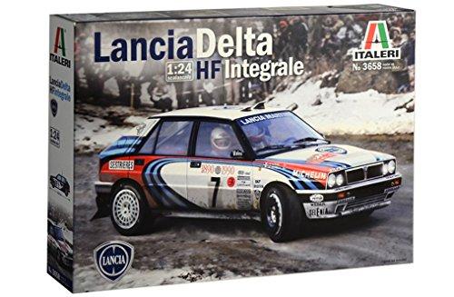 Italeri 3658 Lancia Delta HF Integrale 1990 Rally Monte Carlo auto plastica Scala 1:24