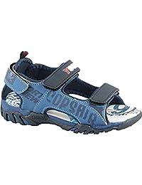Kennedy . Jungen Klettschuhe Sandalen. Blau
