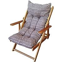 Extra dick gepolsterte Ersatz-Kissenauflage für Liegestuhl, für Haus und Garten