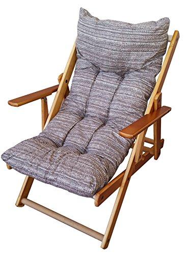 Liberoshopping cuscini cuscino imbottito di ricambio per poltrona sdraio relax da casa e giardino