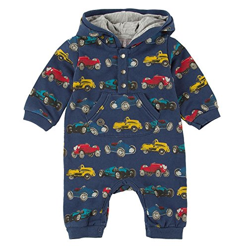Boboli Play Suit Printed For Baby, Tuta Bimba, Blau (Print 9341), 2 mesi