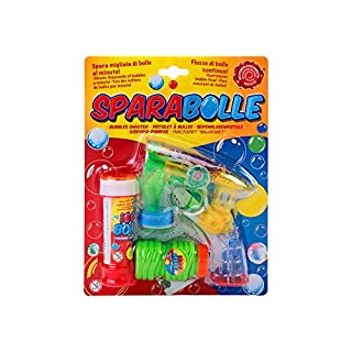 Globo Toys Globo–3765450ml Sommer Bubble Gun mit Licht/Sound und 2Minen