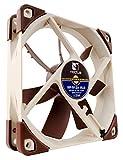 Noctua NF-S12A ULN - Ventilador para caja de ordenador (800 rpm, 8.6 dB, 12 V), marrón