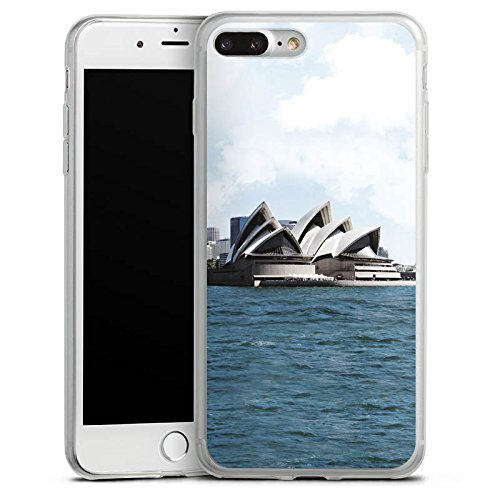 Apple iPhone 8 Slim Case Silikon Hülle Schutzhülle Sydney Australien Opera House Silikon Slim Case transparent