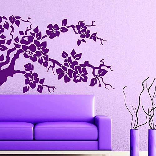 59 cm x 59 cm Blume Design Islamischen Wandaufkleber Kreative Arabische Kalligraphie Muslim Adesivos De Parede Abziehbilder Für Schlafzimmer Wohnkultur