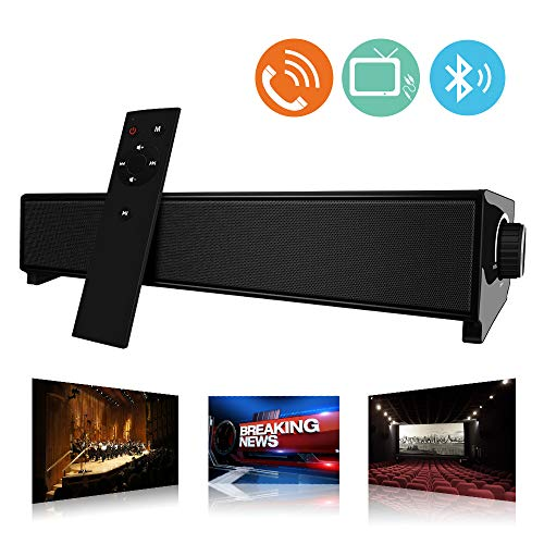 Barra de Sonido, MeihuaTu Altavoz de Audio Bluetooth Inalámbrico para TV PC...