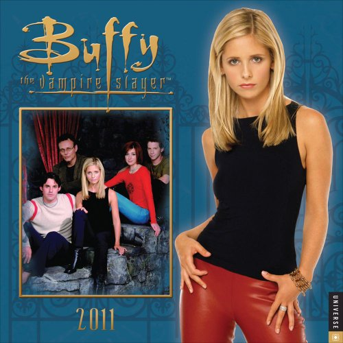 Click for larger image of Buffy the Vampire Slayer 2011 Wall Calendar