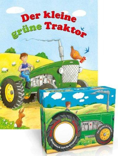 Der kleine grüne Traktor: Bilderbuch und großes 71-teiliges Bodenpuzzle (Buch plus)
