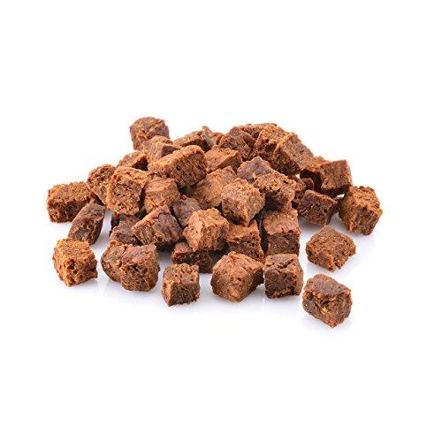 Larsson ® | KNUTIES Würfel - Fisch-Karotte Hundesnack Farm 100gr
