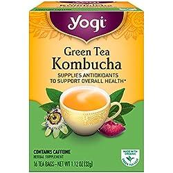 Yogi Tea - Té Verde Orgánico, 16 unidades