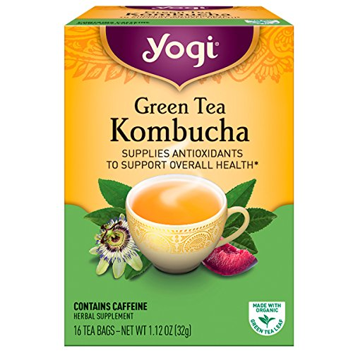 Gather Your Strength with Green Tea KombuchaOur Green Tea Kombucha is inspired by a remedy that dates back to ancient Russia. Updated for today's lifestyle, Yogi's special formula of Kombucha with Organic Green Tea is designed to support your immune ...
