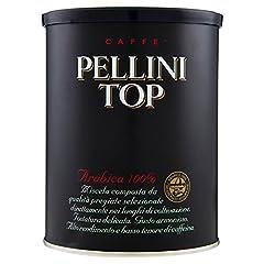 Idea Regalo - Pellini Caffè, Pellini Top Arabica 100% Per Moka, 2 Barattoli da 250gr,  Totale 500gr
