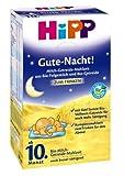 Hipp Bonne nuit de la farine de céréales de lait biologique de 10 mois 3-pack (3 x...