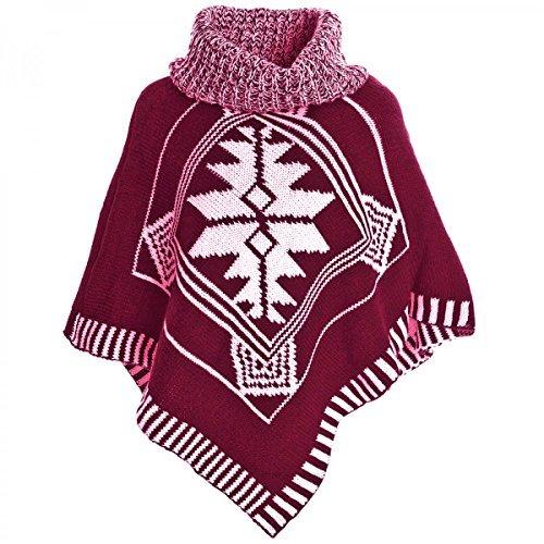 BEZLIT - Maglia sportiva - stile impero - A righe - Collo a U  - Maniche lunghe  -  ragazza rosso 8 anni