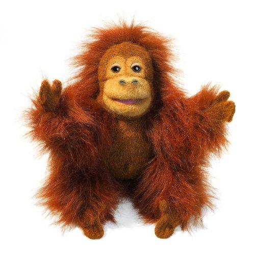 Folkmanis Puppets 2590 - Baby Orangutan (Folkmanis Baby-puppen)