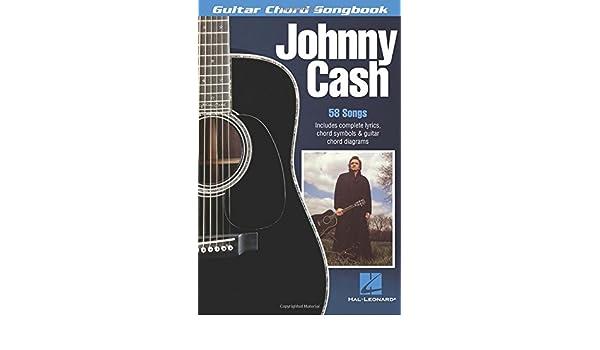 Johnny Cash Guitar Chord Songbook Amazon Johnny Cash