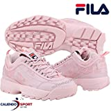 Fila Sneaker DISRUPTOR-2-EMBROIDERY_5FM00605 Mujer Color: Rosa Talla: 36