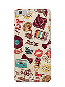 Nukkads 3D Designer Abstract Printed Back Cover for Micromax Canvas Knight 2(E471)