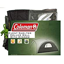 Coleman Event Shelter Deluxe Wall with Window - X-Large, Green