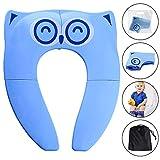 [Nouveau] Gimars Bébé Réducteur de Toilette Pliable siège enfant réducteur wc voyage folding travel potty seat pour...