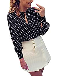 itTulle Pois Bluse Amazon ShirtTop Camicie A T E XNOP80Zwnk