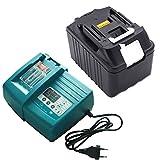 Ersetzen Makita Akku BL1875 BL1860 BL1850 BL1840 BL1830 18V 7500mAh mit 14.4V~18V Makita Ladegeräte DC18RA DC18SC DC1803 DC1804 DC14SA