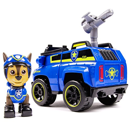 Spin Master 6027647 - Paw Patrol Basic Vehicles - Chase und - Swat-tv-serie