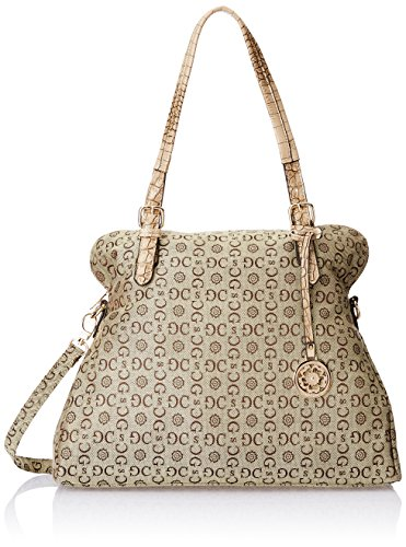 Gussaci Italy Women\'s Handbag (Brown) (GUS1786-3)