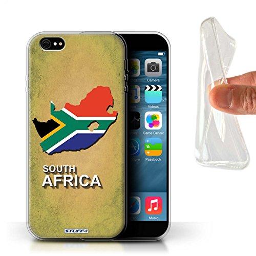 Coque Gel TPU de Stuff4 / Coque pour Apple iPhone 5/5S / Australie Design / Drapeau Pays Collection Afrique du Sud/Afrique